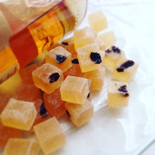 ラムレーズンの琥珀糖 作り方