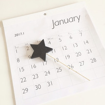 セリアでカレンダーと…