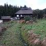 水路のまわりの草刈り