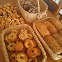 たくさんパン焼きまし…