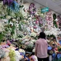 韓国旅行 造花市場へ