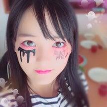 ハロウィンメイク!?…