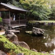 靖国神社 日本庭園・…