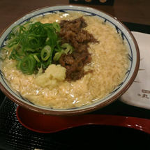 丸亀製麺試食会!多分…