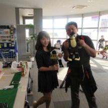 台湾TV番組の取材