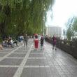 中国旅行記「蘭州市街…