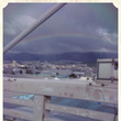 神戸にかかる綺麗な虹