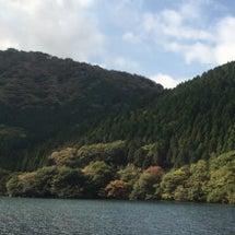 箱根神社から、芦ノ湖…