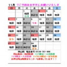 ☆★11月休診日のお…