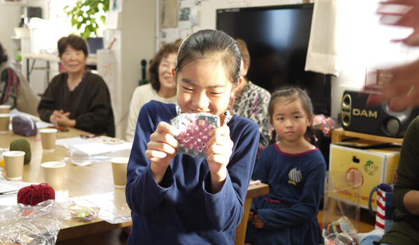 編み物お茶っこ飲みボランティア