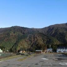 秋晴れの白山ろく。