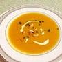 かぼちゃのスープと自…
