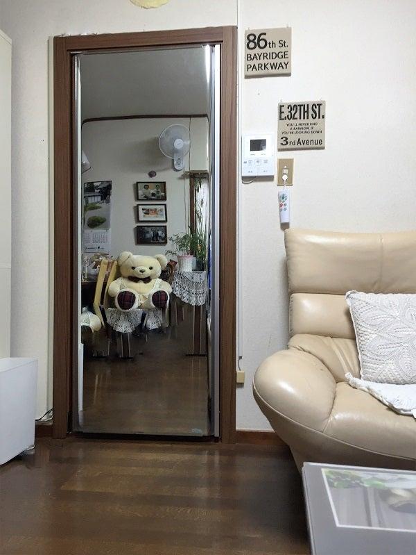 ミラーTVドア「mirado(ミラド)」(電源OFF)