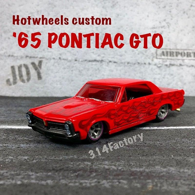 HotwheelsCustom65PONTIACGTO