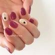 plum nail*