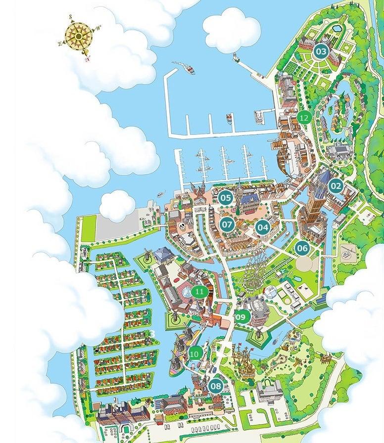ハウステンボス 地図