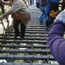 徳島県祖谷いや葛橋か…
