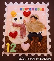 WINTER切手