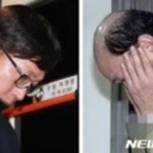 韓国の拘置所は被り物…