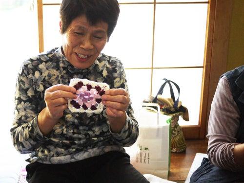 編み物お茶っこ飲みボランティア 石巻