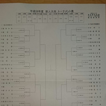 新人戦トーナメント決…