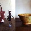 「布と陶」展のおしら…