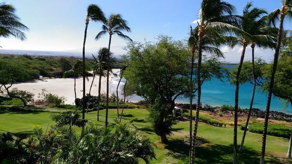 オーシャンフロントからのビーチの眺め(1)