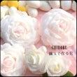 繭玉で作る 薔薇の花