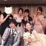 友人の結婚式へ*°.