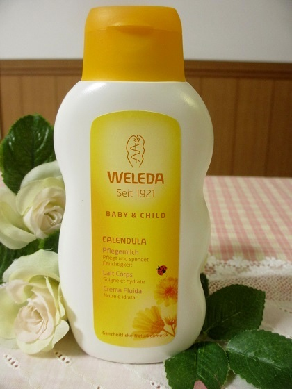 生まれたての赤ちゃんも敏感肌の大人にも♡ヴェレダのミルクローション