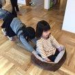 姉妹でトレーニング?…