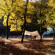 寸又峡紅葉とキャンプ