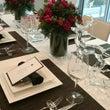 花とテーブルコーディ…