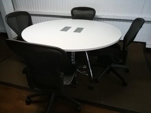 AdHoc ラウンドテーブルとアーロンチェア