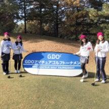 ゴルフトーナメント♡