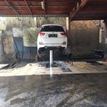 バリ島 洗車場