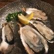 大先輩と生牡蠣を食べ…