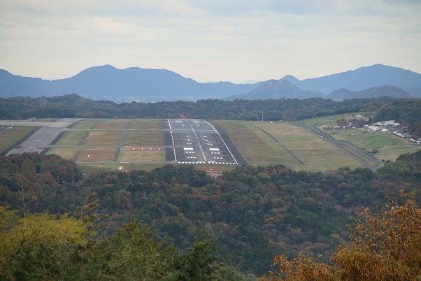 高山航空公園から