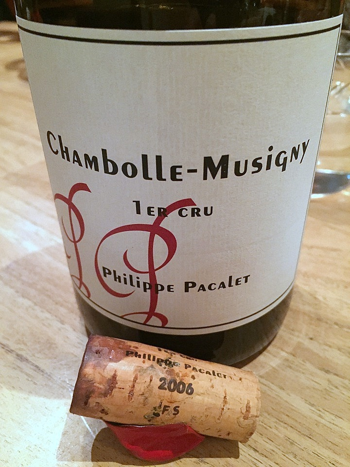 Philippe Pacalet  Chambolle-Musigny