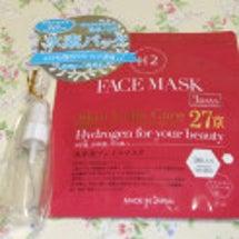 真水素フェイスマスク…