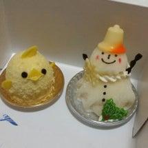 可愛ぃケーキとマカロ…