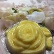 バラのバタークリーム…