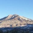 今朝の高社山
