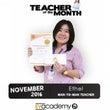 TEACHER of…