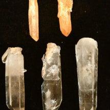 最初はブラジル産水晶…