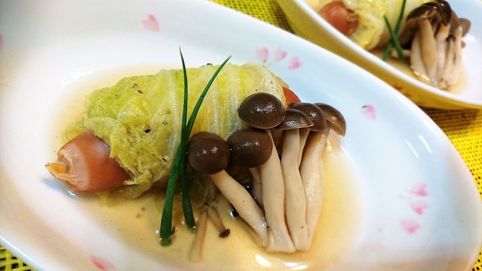 ウインナー 白菜