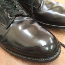 靴磨き ALDEN …