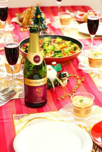 柏 美容に良い料理教室 クリスマス テーブル