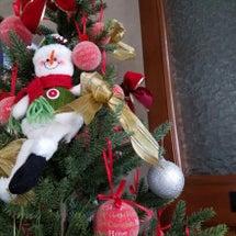 可愛いクリスマスツリ…