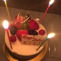 お誕生日〜♡